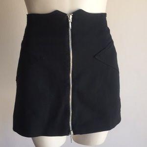 Bcbg Black Skirt NWT
